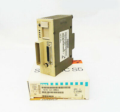 SIEMENS SIMATIC S5 6ES5521-8MB11 6ES5 521-8MB11 Vers. 05 -unused-