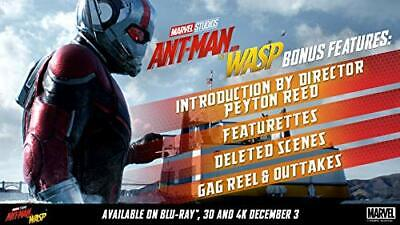 Ant-Man and the Wasp [3D  Blu-ray] [2018]