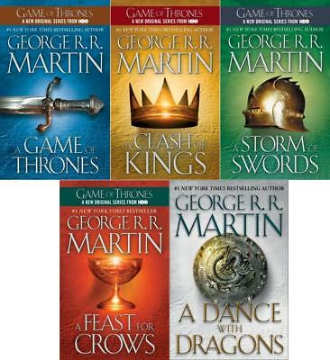 Game of Thrones A Song of Ice and Fire - MP3 DVD George R R Martin Audiobook