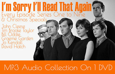 I'm Sorry I'll Read That Again, Old Time Radio Comedy, Python & Goodies MP3 DVD