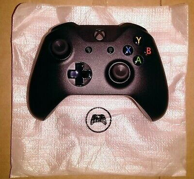 Official OEM Microsoft Xbox One Black Wireless Controller BRAND NEW
