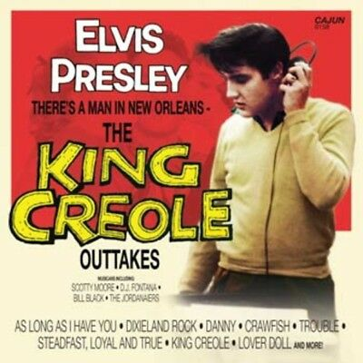 Elvis Presley - THE KING CREOLE OUTTAKES - CD - New Mint Original - CAJUN