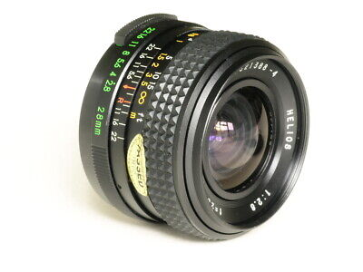 HELIOS 28mm f2.8 M42 mount lens 821388-4 - Fits digital