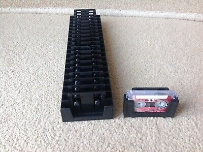 21 x Microcassette Mini Cassette Tape Holders (Dictaphone, Philips, Recorder)