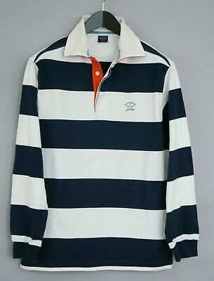 Longues Hommes Col Polo Paulamp; Maillot Yachting Rugby Shark Manches rdCBhsxotQ