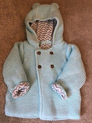Gorgeous Girls or Boys M&S Coat Cardigan 3-6 months