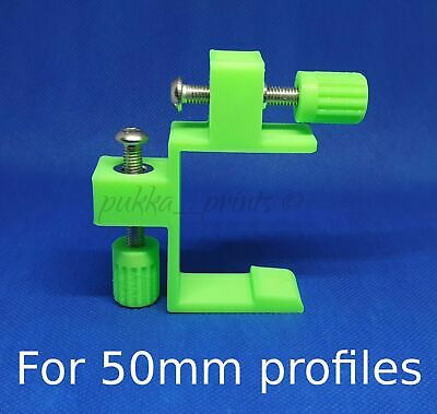50mm Profile stabiliser clips brackets set 2 Brick laying wall Building blakes