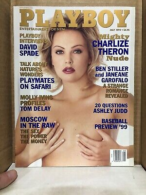 PLAYBOY MAY 1999 - Charlize Theron ~ VERY GOOD!