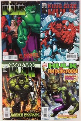 Incredible Hulk 4 x one shots (Marvel 2000's) 4 x issues