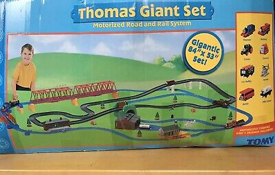 Thomas the Train & Friends Blue TOMY Track & Trains Battery HUGE LOT 150+ PC Set