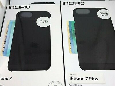 promo code 214fd 5485b INCIPIO WALLET LEATHER Credit Card Case For iPhone 8 iPhone 7 6 6S ...