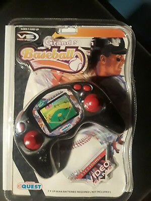 fb41438161f Toy Quest Manley Handheld Electronic Grand Slam Baseball Video Game Unopened