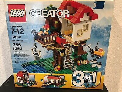 Lego Creator Treehouse 31010 New In Sealed Box Retired 2800