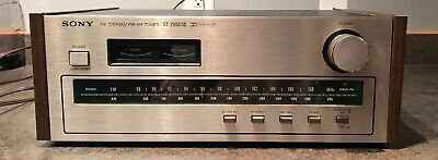 Sony ST-2950SD FM-AM Tuner Rare Works Well Good Cosmetic