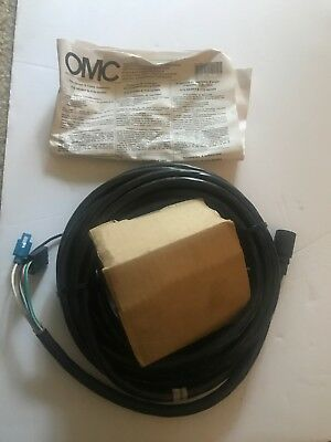 OMC Johnson Evinrude 583654 & 583655 Outboard Trim Gauge & Cable Assembly  OMCTS