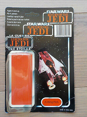 "star wars vintage french tri logo ROTJ  ""A WING PILOT""  unpunched"