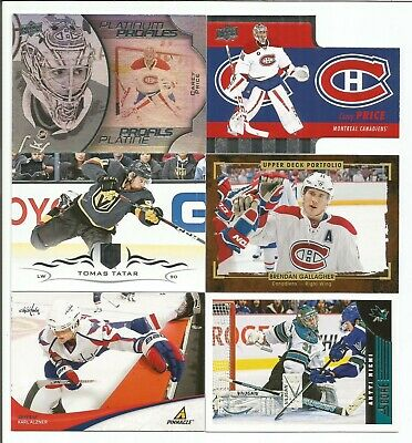 Montreal Canadiens 14 Card Lot Carey Price Patrick Roy Guy Lafleur +++