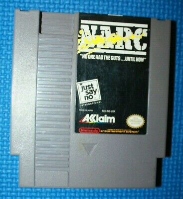 Nintendo NES Cart only Game: Narc