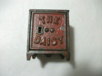 The Daisy Cast Iron Safe Bank - Two Rivets