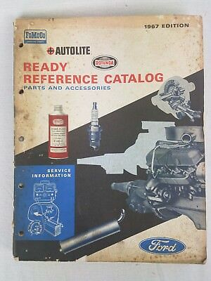 1958-1967 Ford Lincoln Mercury Original Ready Reference Parts Catalog AF-7514-67