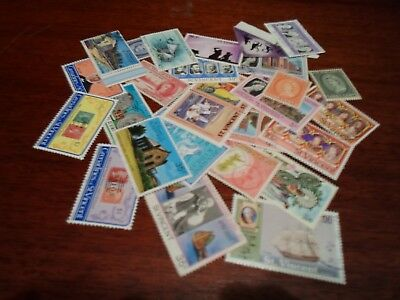 Collection lot 25 different stamps of St Vincent and Grenadines