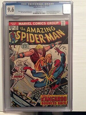 Amazing Spiderman #126 CGC 9.6 Rare Tremont collection No Reserve White Pages