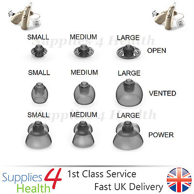 GENUINE Phonak Audéo M Marvel Hearing Aids 4.0 Domes 10 Pack - NEW STYLE DOMES!