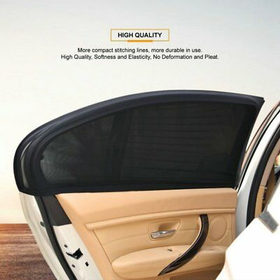 2x Pieces Auto Window Sun Shade Cover UV Protection Baby Child Shield For Car US
