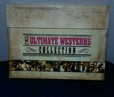 The Ultimate Westerns Collection DVD Box set John Wayne Clint Eastwood Lee Marvi