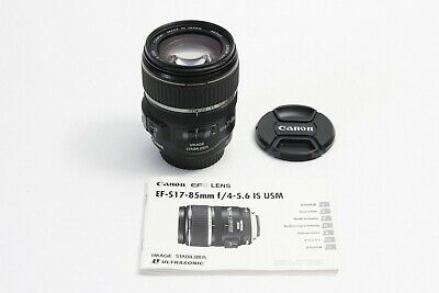 Canon EF-S 17-85mm IS USM Lens Image Stabilizer EOS DIGITAL 15 l GREAT WORKING