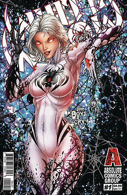 White Widow #1 2Nd Cover B Jamie Tyndall Red Giant Entertainment Comics