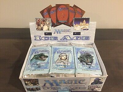 *** Ice Age Booster Pack x 1 - Factory Sealed - US English - MTG ***