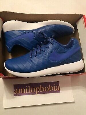 quality design 577b5 78e95 New Men s Nike Roshe Tiempo VI QS Size 10.5 Blue White Running Shoes