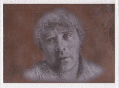 Lord Of The Rings ~ *masterpieces* Topps 2006 Bronze 'sam' Foil Art Card #6