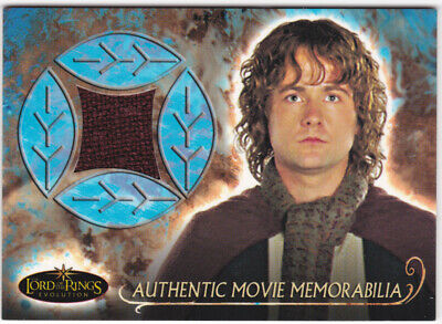 Lord Of The Rings ~ *evolution* Topps 2006 'pippin's Travel Cloak ' Costume Card