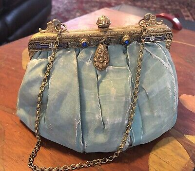 Rare Vintage Antique Early 1900's/ Late 1800's Purse Handbag (Collector's Piece)
