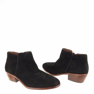 dce20f4e8 Women s Sam Edelman Betty Shoes Black Suede Ankle Booties Size 7.5 W NEW!