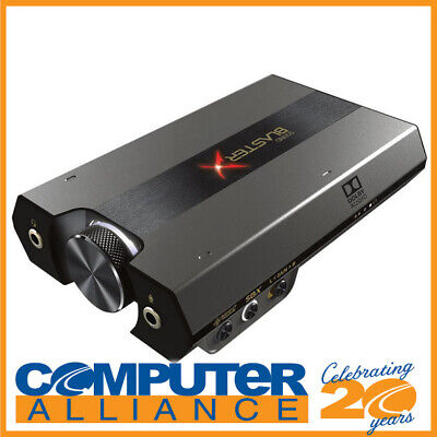 Creative Sound BlasterX G6 7.1 HD Gaming DAC USB Sound Card