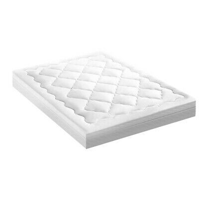 Giselle Bedding Pillowtop Mattress Topper Protector 1000GSM Queen