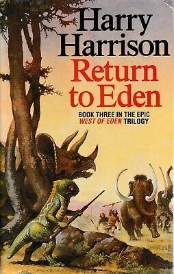 Return to Eden By Harry Harrison (Paperback, 1989)