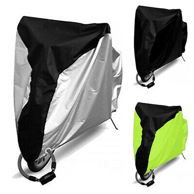 Bike Dust Cover UV Protective Waterproof Protector Bicycle Rain Case S-XL
