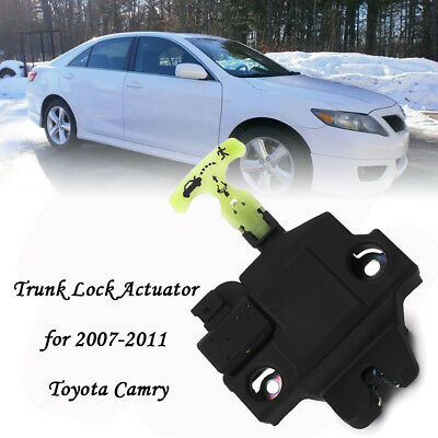 Trunk Lid Latch Lock Actuator Replace For 2007-2011 Toyota Camry 64600-06010 1pc
