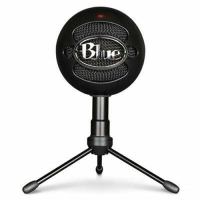 Blue Microphones Snowball Ice Condenser Microphone - Black (perfect condition)