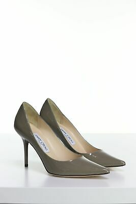 b3cd7627227e30 JIMMY CHOO PUMPS aus Lackleder 36.5 olivgrau - EUR 249