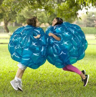 Kids Inflatable Buddy Bumper Ball Bounce Sumo Suits Fun Game Zorb Red OR Blue 2X