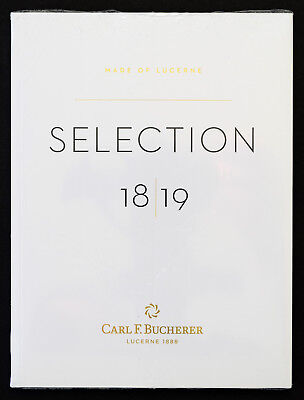 CARL F. BUCHERER 2018-2019 Watch Catalog - BRAND NEW - Sealed