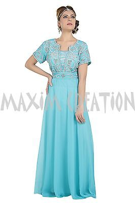 Customized Wedding Gown Western Party Wear Fustan Traditional Persian Robe 6563