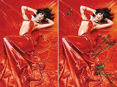 VAMPIRELLA ROSES FOR THE DEAD 1 MIKE MAYHEW VIRGIN 2 PACK SET NM Limited 500