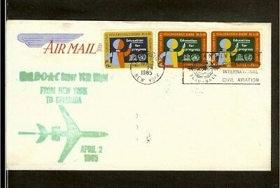 [NL193_21] 1965 - USA First airmail flight - New York - Bermuda (1)