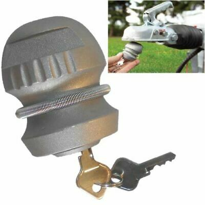 New Insertable Hitch Coupling Caravan Trailer Tow Ball Security High Safety Lock